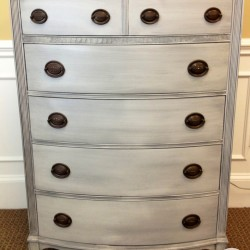 Grey Glazed Chest of Drawers