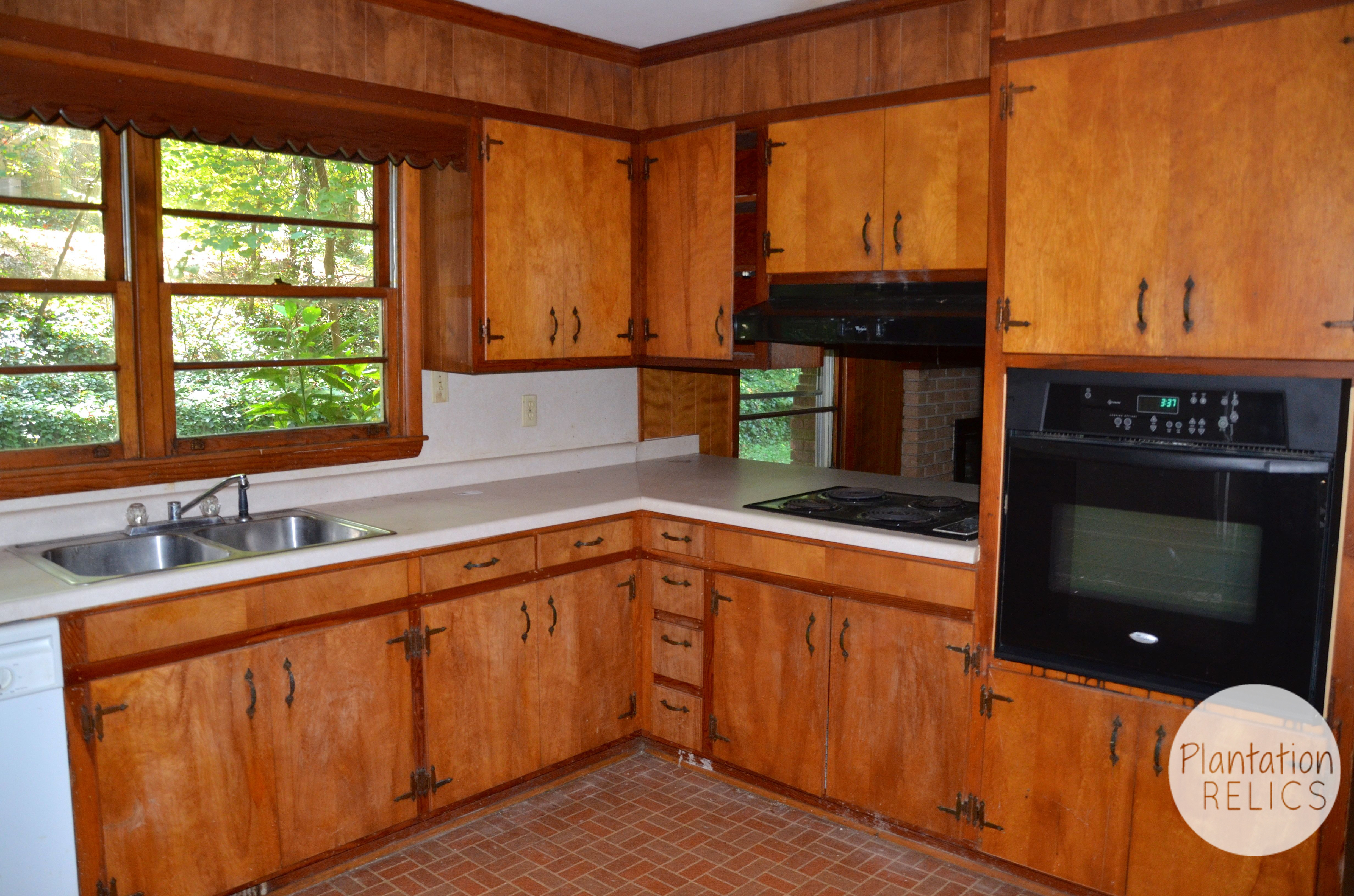 Plantation Kitchen House the kitchen after in flip house #1 - plantation relics