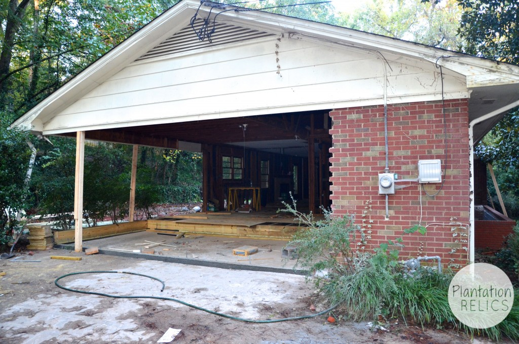 Turning A Carport Into Bedrooms Plantation Relics