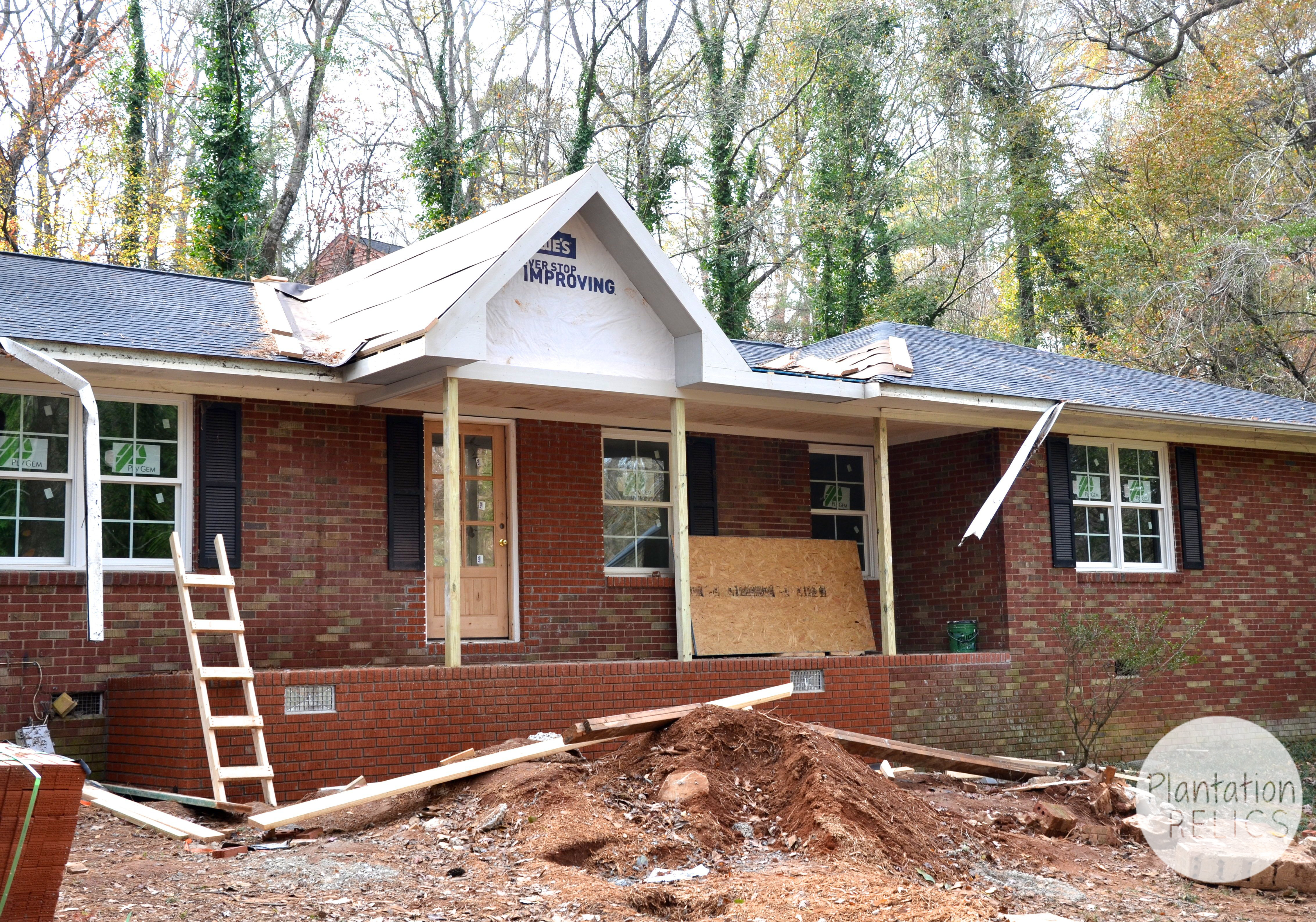 how to build a front porch gable roof thesouvlakihouse
