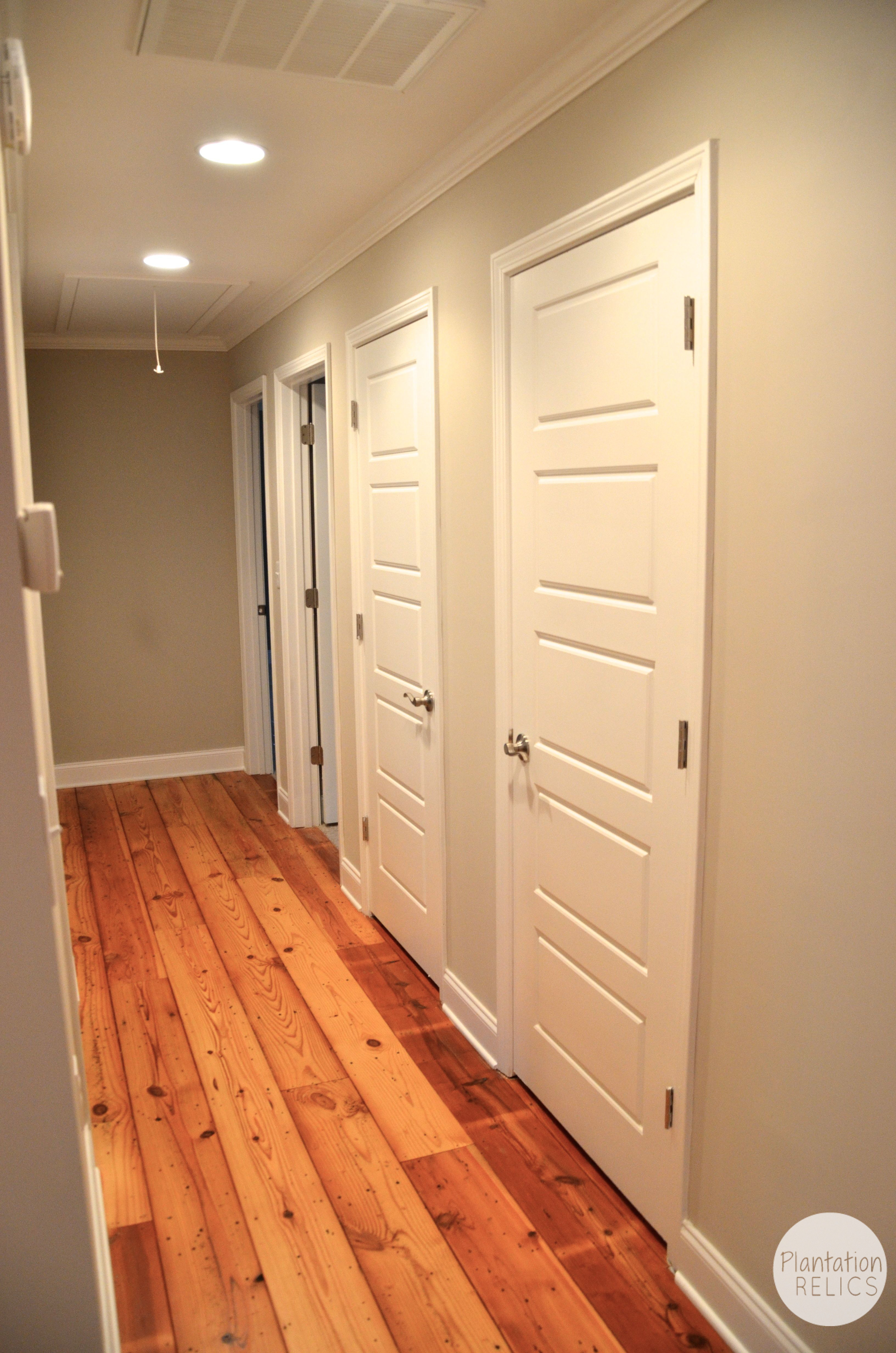 Flip #1 Bedrooms and Hallway–The Final AFTER of the Inside