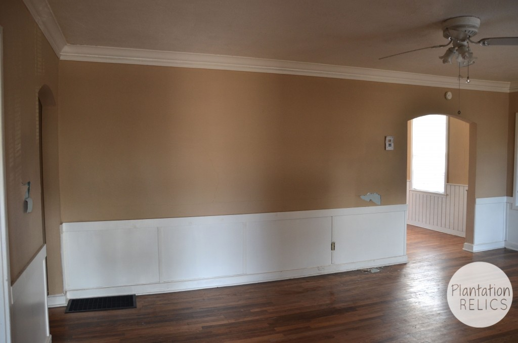 Living Room Before from front flip