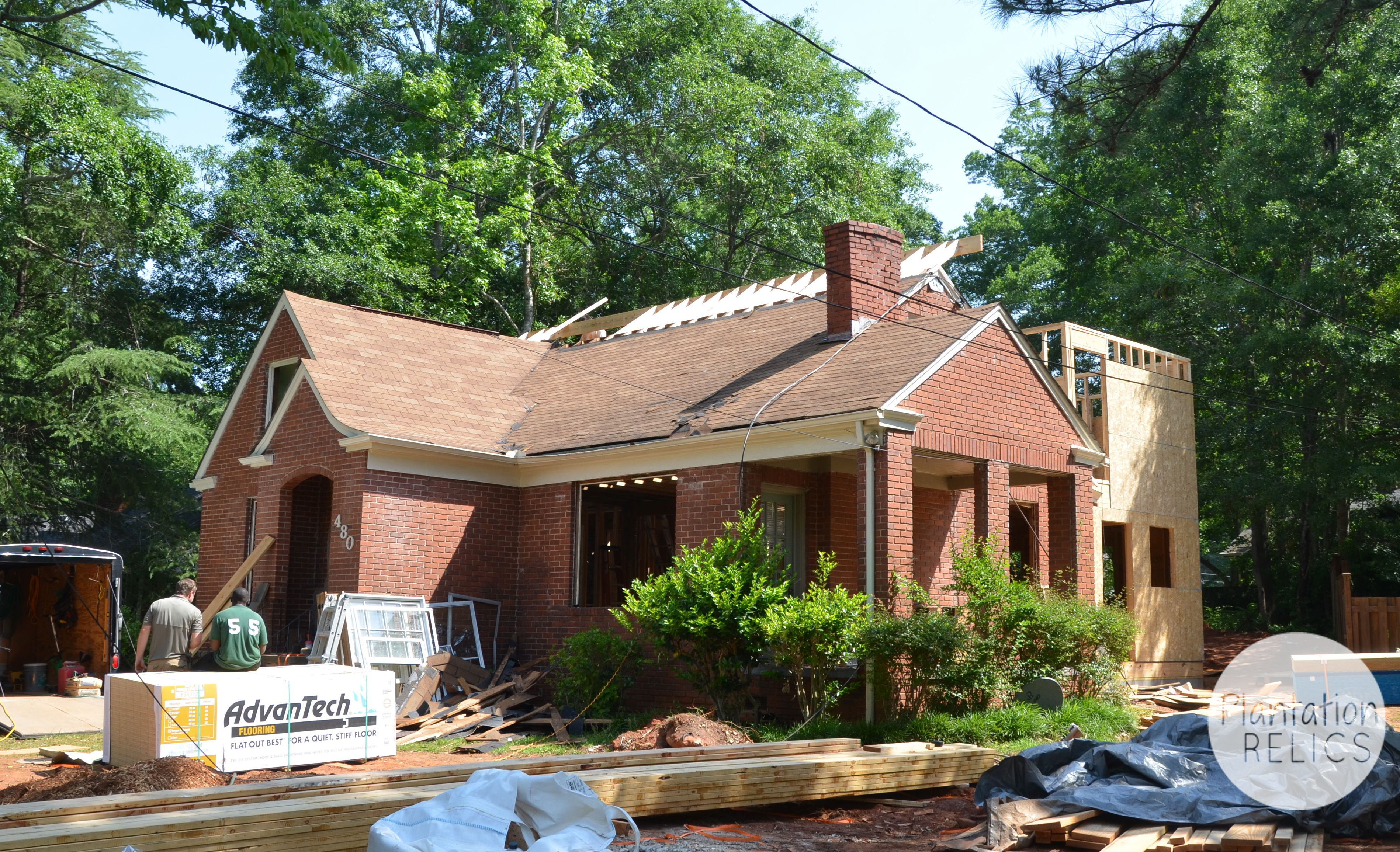 Exterior Roof Extension From Road Flip
