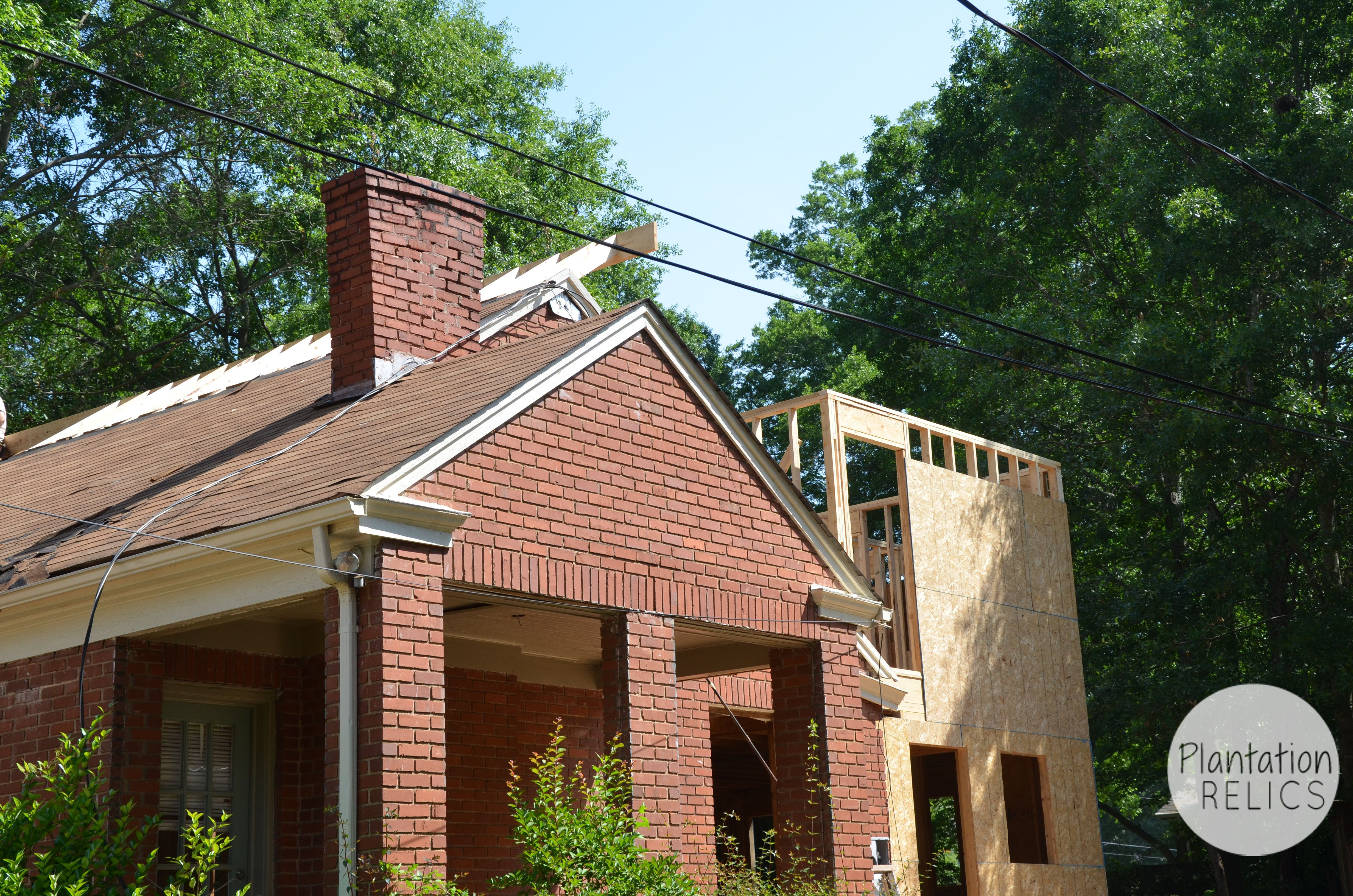 Exterior Roof Extension Middle Flip