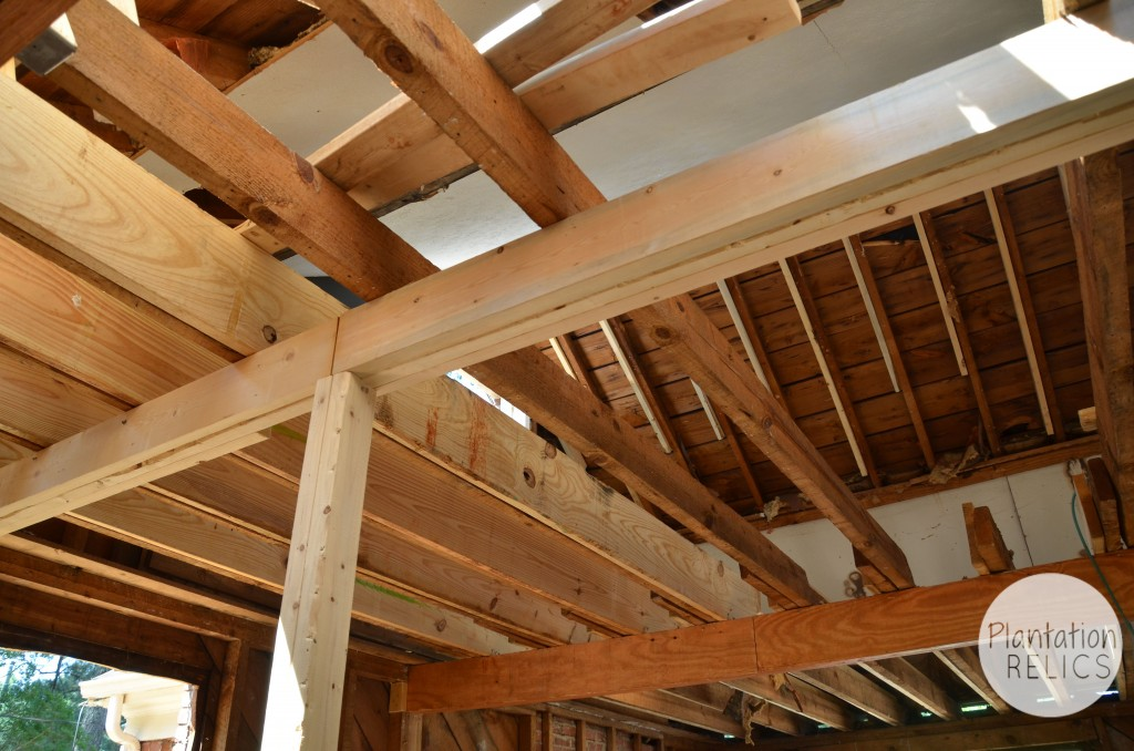 Upstairs Floor Joists flip