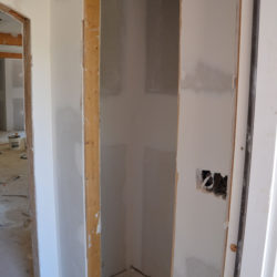 Wow!  Drywall Makes a Huge Difference!