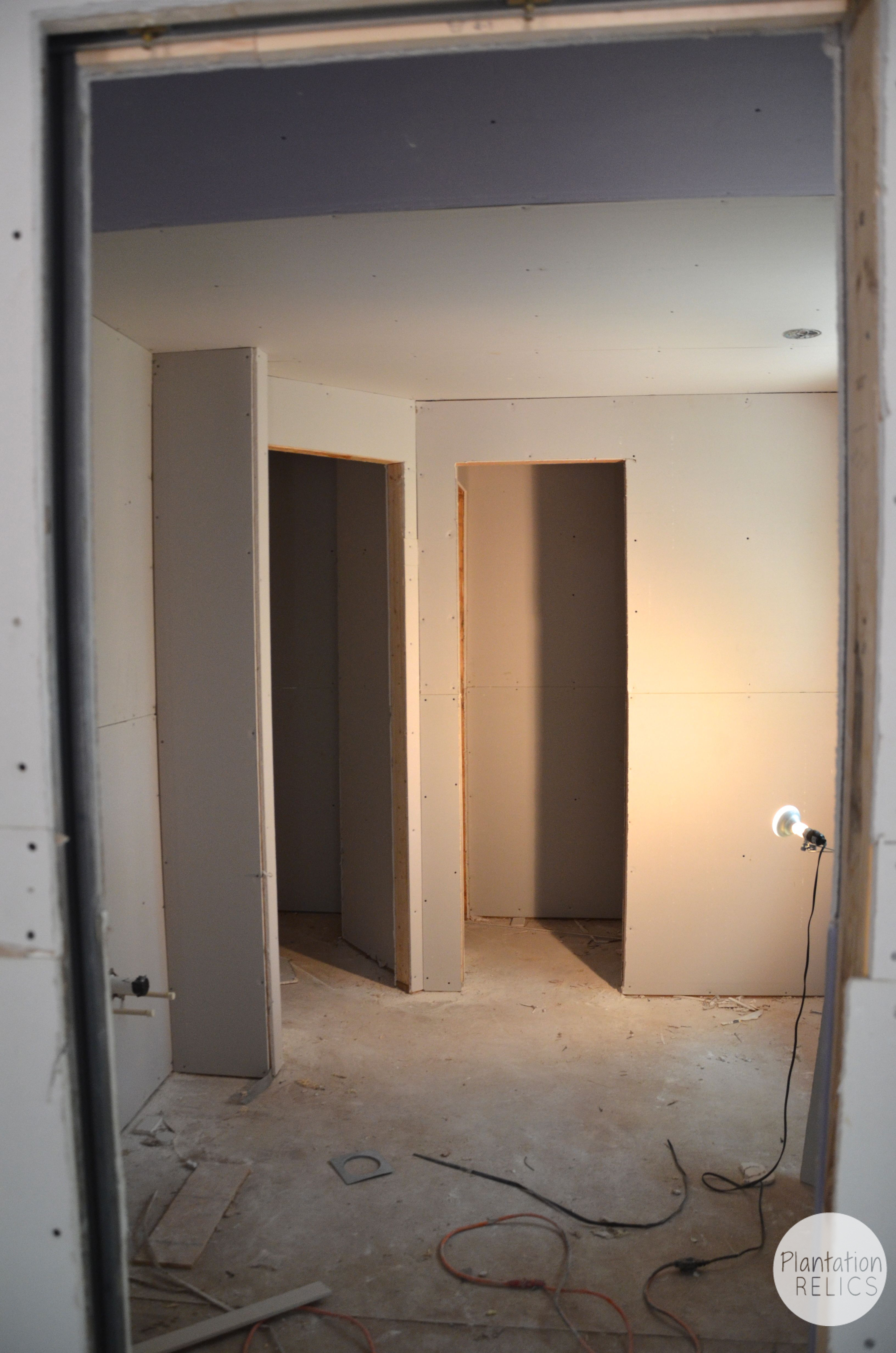 Wow drywall makes a huge difference What sheetrock to use in bathroom
