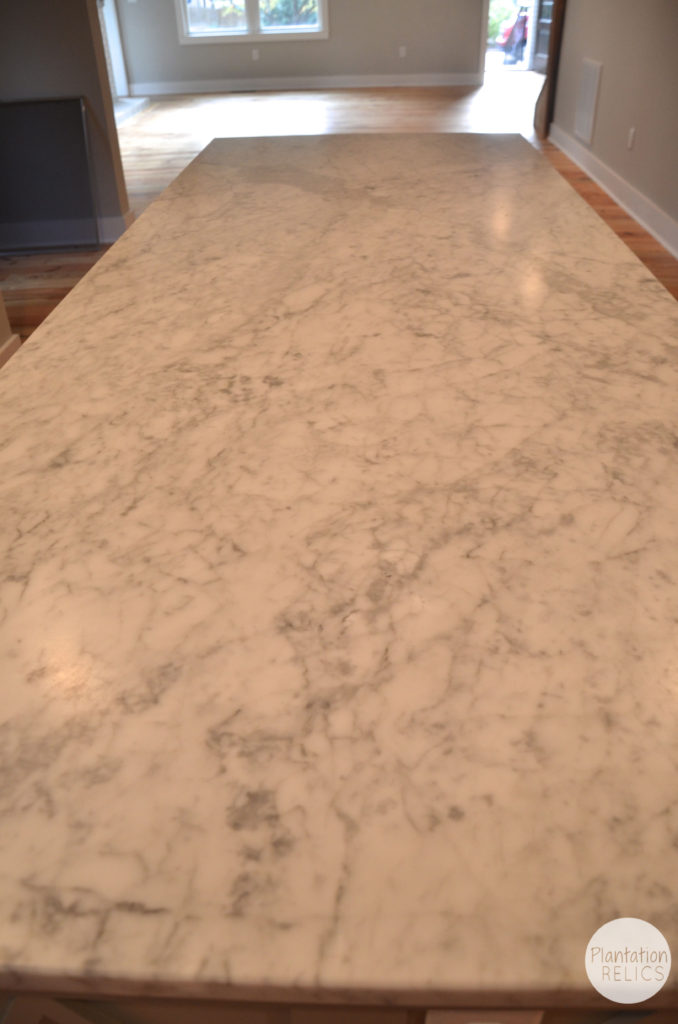 Kitchen After Marble top flip