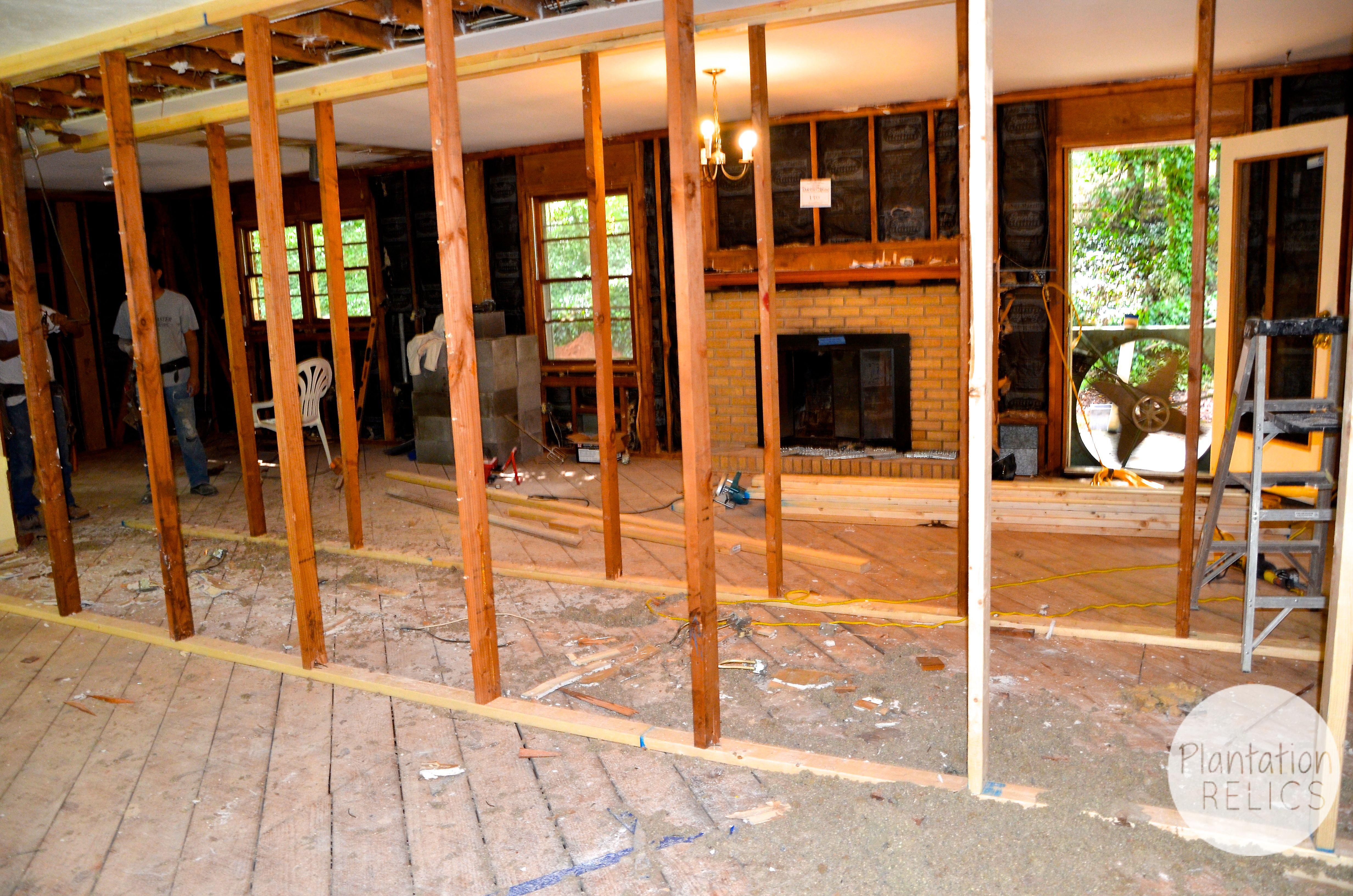 The Open Concept Living Room Flip House Update